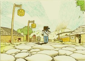 Minecraft - The Lone Crafter by demik109