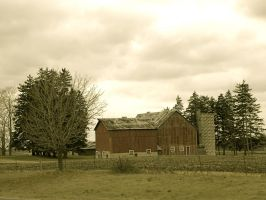 The forgotten barn by Agatje