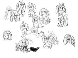 Sketches by CanineCriminal