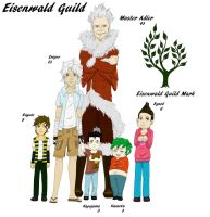 Fairy Tail Orphans of Eisenwald and Guild Master by empersian1234