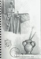 Still Life's sketches by TigaLioness