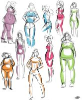 Body Types Practice by ursyoctopus
