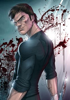 Dexter - The Dark Defender by PatrickBrown