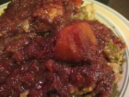 Cherry-Plum Criminara N Chicken-Broccolette Rice 2 by Windthin