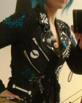 DIY Deathrock jacket