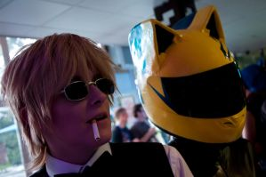 Shizuo and Celty by AkraruPhotography