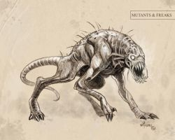 Creature Concept 13 by NathanRosario