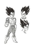 Vegeta Zenkai by bloodsplach