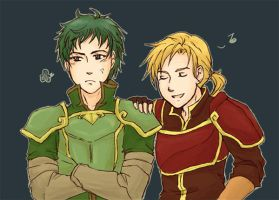 sacred stones - BROKNIGHTS by DreamerTakako