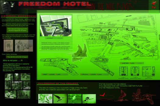 Freedom Hotel 1 by NGhabib