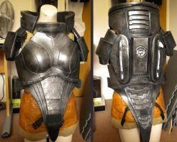 Femshep Cosplay - Work in Progress 9 by arido-X