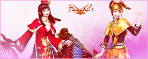 Two Qiao's sig by QiaoFather