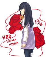 HBD Hinata by blearry1