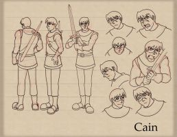 FS: Cain Model Sheet version 2 by neo-dragon