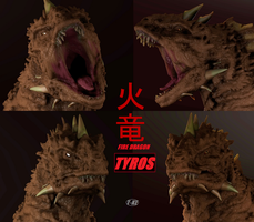 Tyros ( Poses ) by The-KaijuEnthusiast
