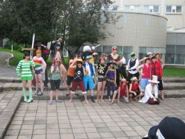 OP Cosplay Group Animecon 2011 by Chichicken