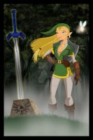 The Legend of Zelda by thisisanton