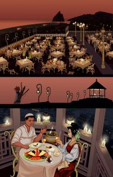 My love of restaurants and food by RodEspinosa