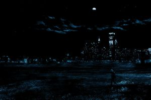 walking in the night by Noc21