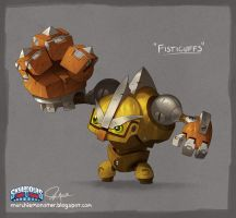 Skylanders Trap Team: Fisticuffs by MURCHIEMONSTER