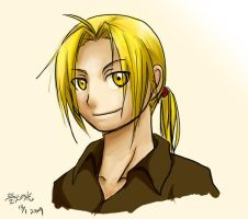 FMA: Ed's Smile by qianying