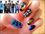 Nail Art: SHINee by LeleMJ
