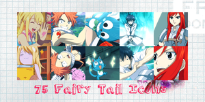 Fairy Tail Icon Pack by Shade-EX