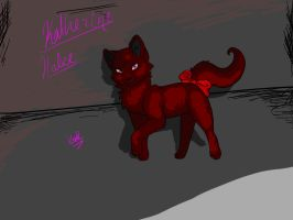 Katherine Cat Form (Black Butler OC) by OokamiWolven