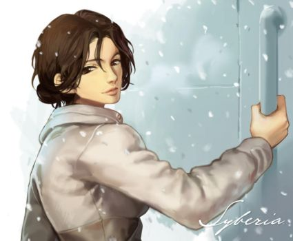 Kate Warker in Syberia by 2gold
