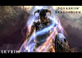 Skyrim Wallpaper - Dragonborn by jamesuyt