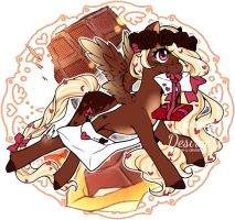 [Adopt] 100Themes: Chocolate Kisses [CLOSED] by ChocoberryLollipop