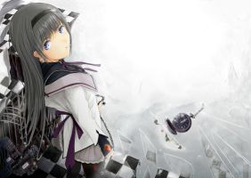 HOMURA Freedom Action by zakuraryo