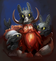 Stoick the Vast by TsaoShin