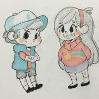 gravity falls by the-secondstar