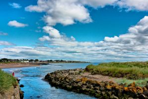 Carnoustie beach by BusterBrownBB