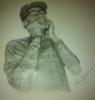Wiz Khalifa by youngwiz