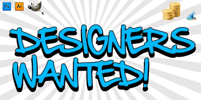 Designers Wanted by agodesa