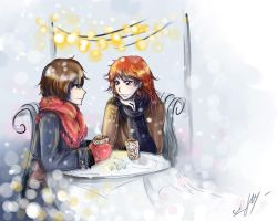 Winter cafe~ by Rinoa-Light-Leonhart