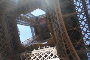 The inner workings of the Tour D'Eiffel by Whatwecouldhavebeen