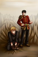Daizuke n Thore by SorceressDream