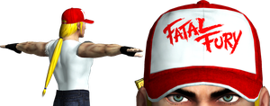 Terry Bogard 3D MODEL W.I.P by sidneymadmax