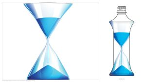 Warped Water Glass by midstar