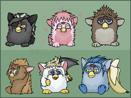 6/13 Furby by MintyDreams7