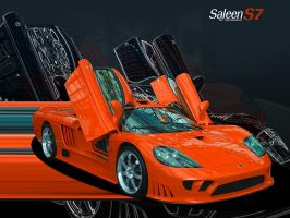 Saleen S7 - 2 by sonic