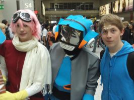 FLCL cosplay by Hey-its-that-art-guy