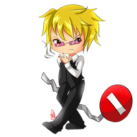 [ Paypal commission ] Shizuo by KitsuneRenaChan