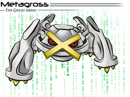 Metagross :. by Anzhyra