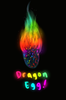 Colorful Dragon Egg Auction CLOSED by TheFireGypsy