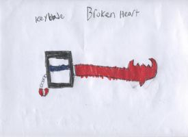 My keyblade, Broken heart by Nitrox8