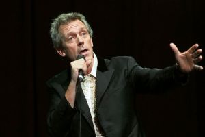 Hugh Laurie by RomiaNyan